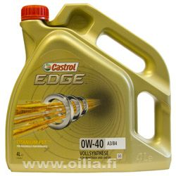 EDGE TITANIUM 0W-40 A3/ B4