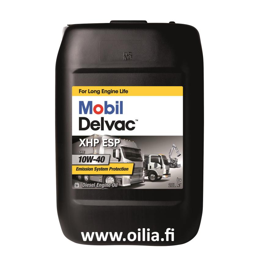DELVAC XHP ESP 10W-40