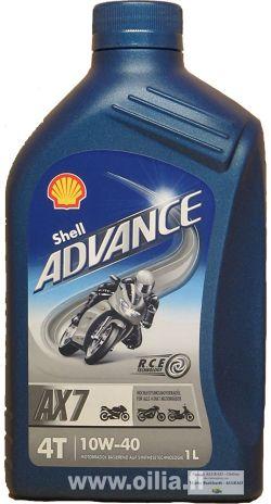 ADVANCE 4T AX7 10W-40