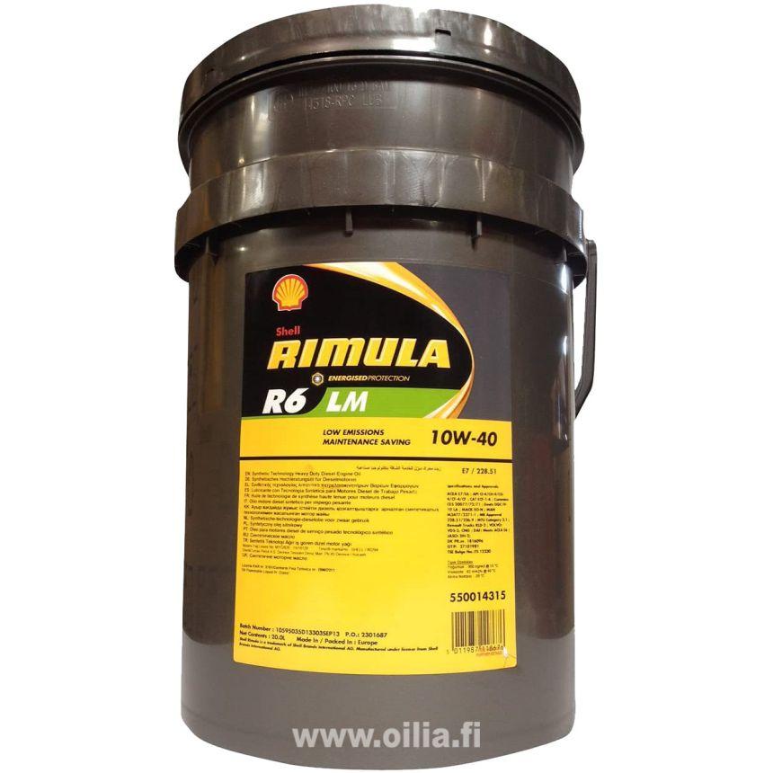RIMULA R6 LM 10W-40