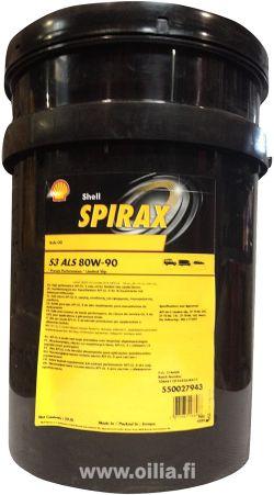 SPIRAX S3 ALS 80W-90